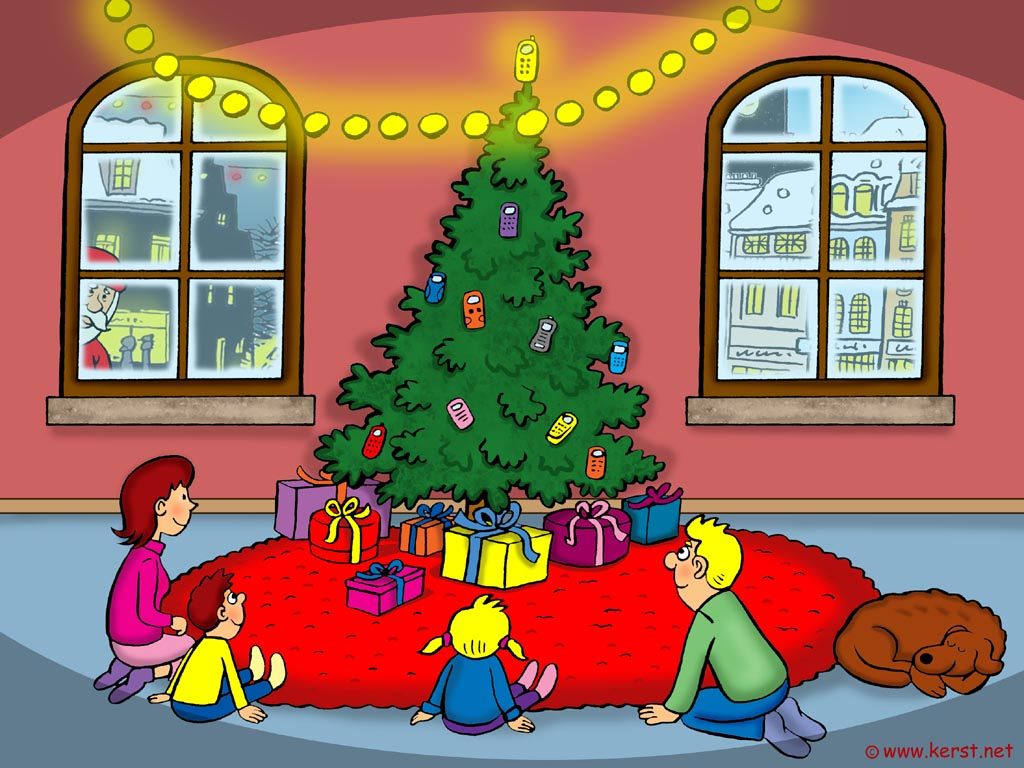 Kerst Strand En Skischans Wallpapers Desktop Achtergrond Christmas