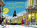 kerstmis straat sfeer desktop achtergrond downloaden